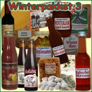 Kerstpakket Winter 3 - Streekpakket gevuld met unieke winterse streekproducten - Kerstpakket Specialist - www.kerstpakkettencadeaubon.nl