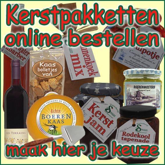 Kerstpakketten bestellen - Cadeaubonnen voor iedereen - Maak je eigen keuze op -Kerstpakketten Specialist NH - www.KerstpakkettenCadeaubon.nl