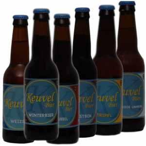 Keuvel Bierpakket Assorti 6 - Westfiese speciaal Keuvel bier gebrouwen in Noord-Holland - Bierpakketten Specialist - www.kerstpakkettencadeaubon.nl