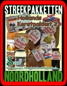 Streekpakket Noord-Holland - Verantwoorde streekproducten met een unieke smaak - www.KerstpakkettenCadeaubon.nl