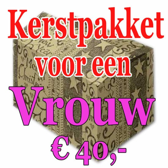 Verrassingspakket voor de Vrouw 40 - Mystery pakket - verras je vrouw - www.kerstpakkettencadeaubon.nl