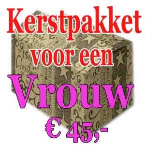Verrassingspakket voor de Vrouw 45 - Mystery pakket - verras je vrouw - www.kerstpakkettencadeaubon.nl