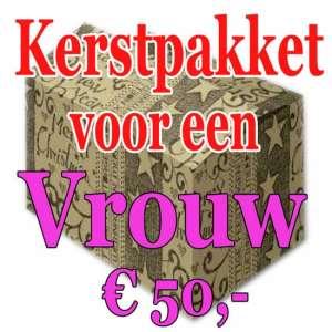 Verrassingspakket voor de Vrouw 50 - Mystery pakket - verras je vrouw - www.kerstpakkettencadeaubon.nl