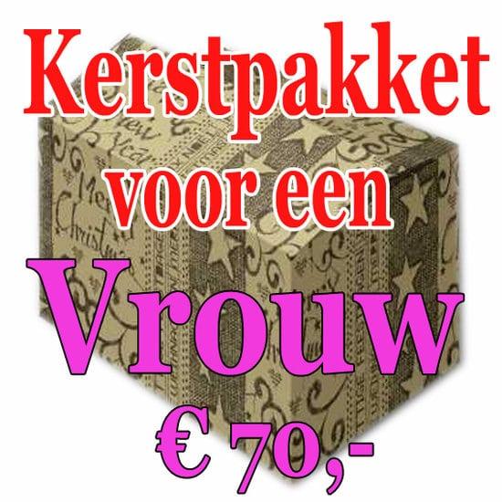 Verrassingspakket voor de Vrouw 70 - Mystery pakket - verras je vrouw - www.kerstpakkettencadeaubon.nl