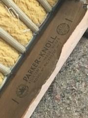 Parker Knoll frame branding