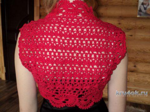 Bolero (Schrah) Crochet, kerja Olga