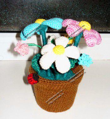 الزهور في وعاء، الطبقة الرئيسية!