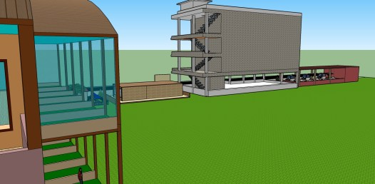 โครงงานกลุ่ม สนามกอล์ฟ Model3
