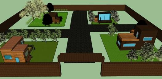 โครงงานบ้านไม้ในสวน กลุ่มที่8a