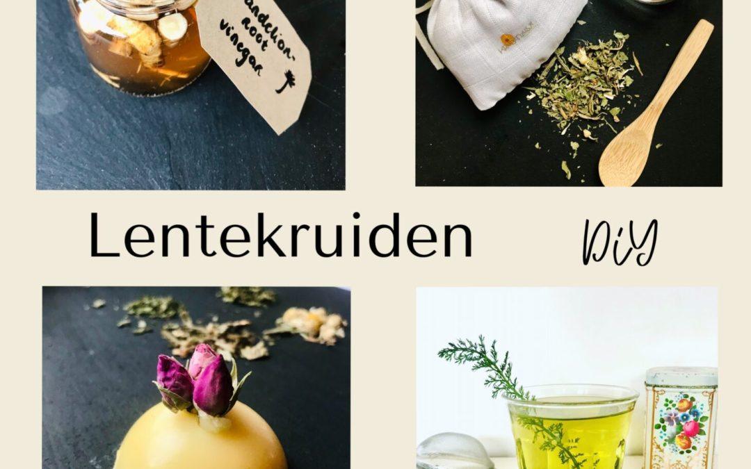 Online workshop Lentekruiden + DIY pakket