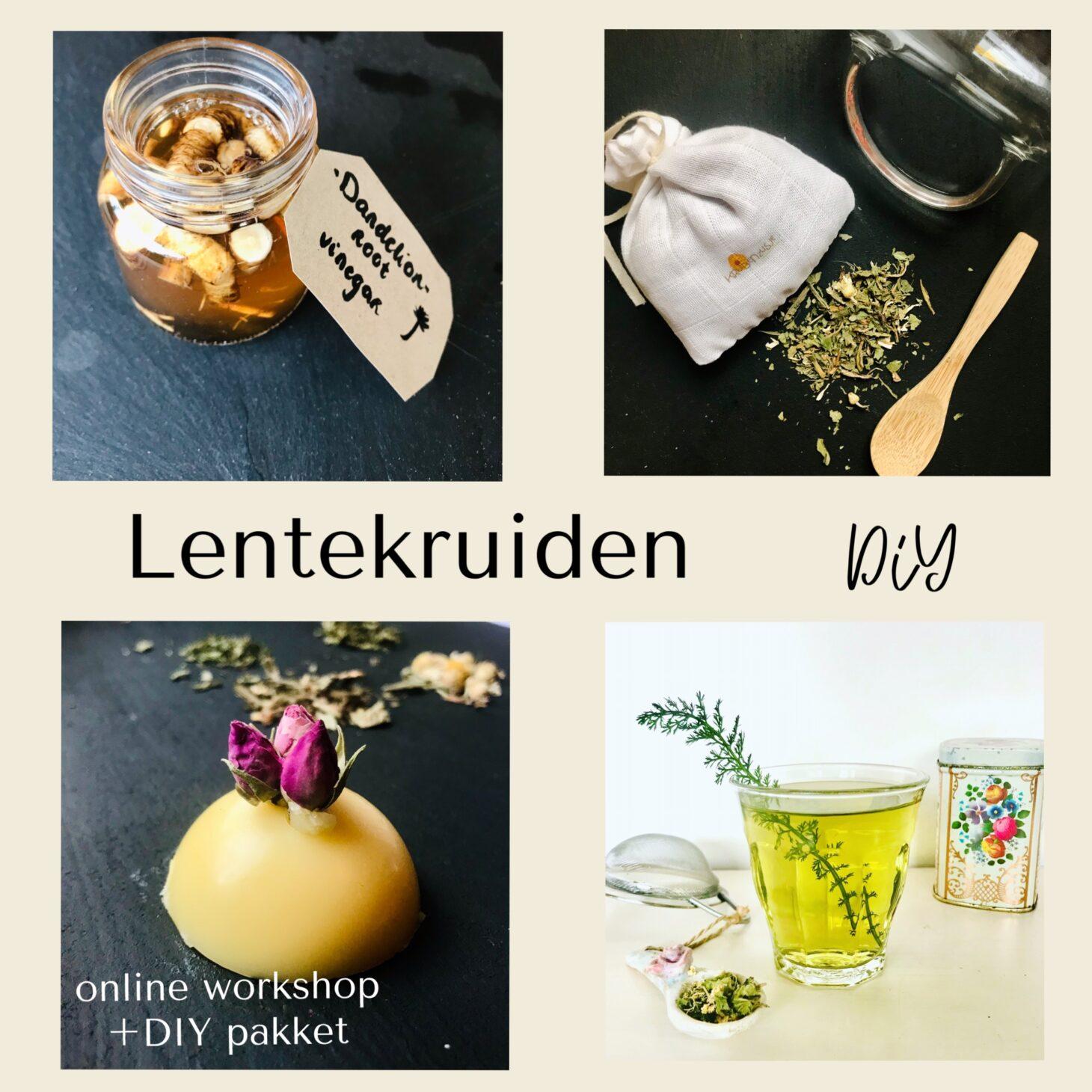 online workshop lentekruiden