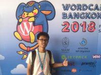 มาร่วมงาน wordcamp bangkok 2018