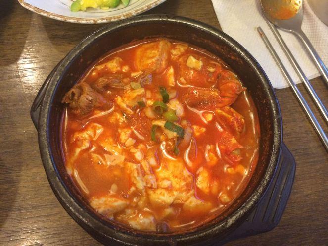 Korean Spicy Soup