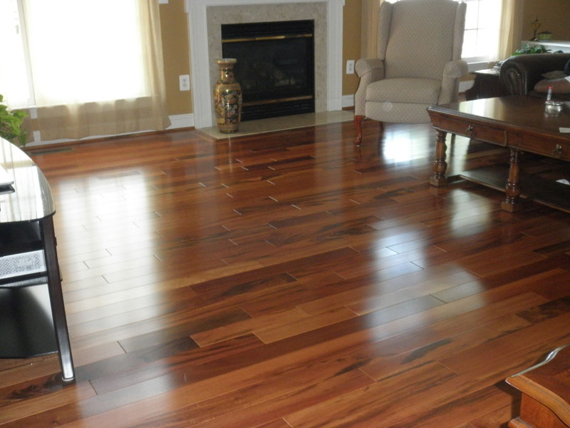Woodbridge exotic hardwood