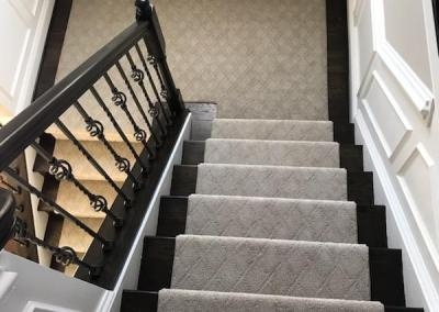 New Carpeted Stairs