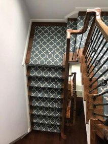 10 27 4 - New Stairs and Carpeting