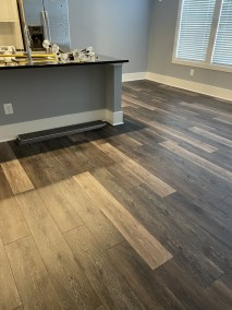 11 6 1 - Blessed To Have Such An Awesome Team - Beautiful New Runner/Parquet Sand-Finish/LVP Installation