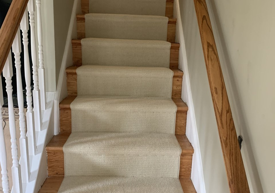Happy Clients And Beautiful Work, Beautiful New Hardwood And Runner Installations