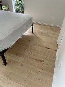 12 46 - Happy Client And Beautiful New Hardwood Installation In Alexandria