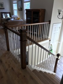 15 12 1 - Happy Clients Are The #1 Priority, Beautiful New Hardwood And Stained Rails/Stairs