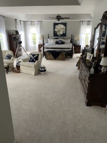 18 8 - Pictures of New Sand-Finish Job In Northern Virginia and New Carpet Installation In McLean 🙂