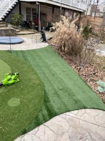 2 41 - Back Yard Golf Practice Facility in Manassas & LVP for a Bathroom In Montclair