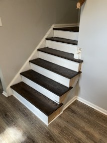 20 5 1 - Wonderful Review And Beautiful New LVP/Hardwood Stair Installation