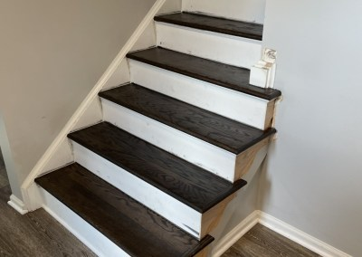 Wonderful Review And Beautiful New LVP/Hardwood Stair Installation