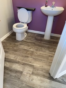 4 41 - New LVP Installation in Kitchen and Powder Room in Gainesville, Virginia
