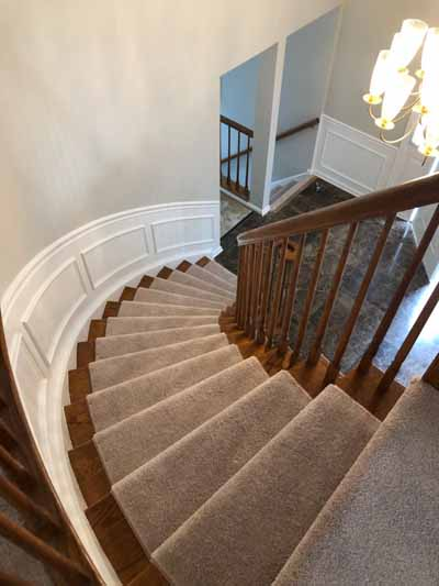 New Carpet Staircases