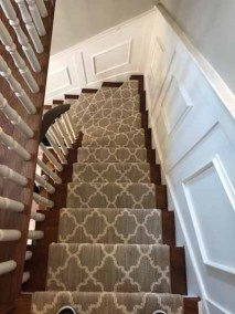 Carpet Staircase Patterned