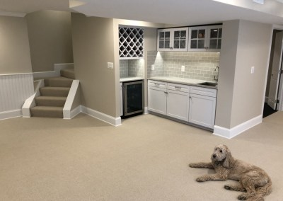 New Hardwood and Carpeted Flooring