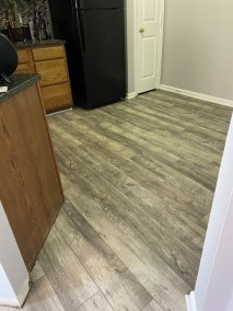 7 38 - New LVP Installation in Kitchen and Powder Room in Gainesville, Virginia