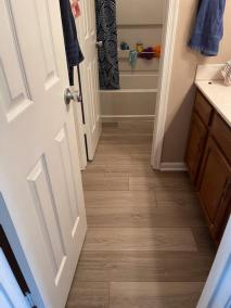 7 45 - Back Yard Golf Practice Facility in Manassas & LVP for a Bathroom In Montclair