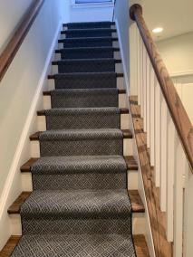 8 13 4 - New Stair Carpeting