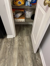 9 34 - New LVP Installation in Kitchen and Powder Room in Gainesville, Virginia