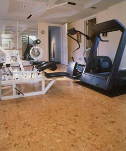 Cork - Most Popular Home Gym Flooring Choices