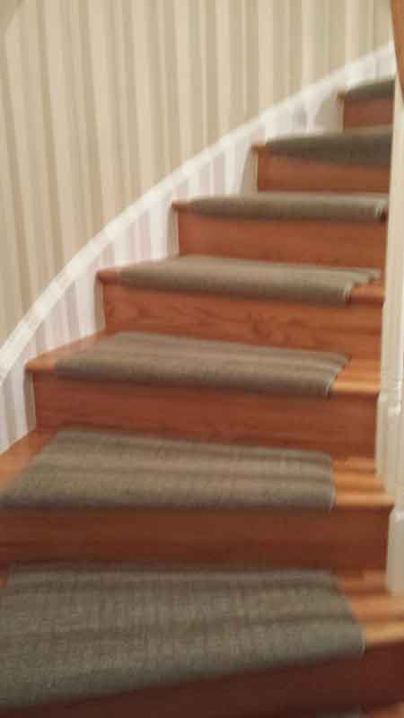 Beautiful new carpet job in McLean