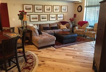 Five Ways To Get Your Hardwood Floors Superbowl Ready