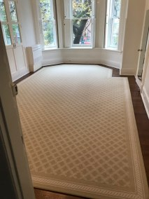 binded carpet
