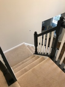 carpet stairs 2 - New Carpeted Stairs