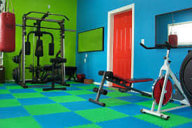 foam - Most Popular Home Gym Flooring Choices