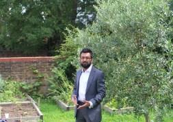 Speaking at Change Grow Live Garden