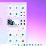 windows 10 new start menu