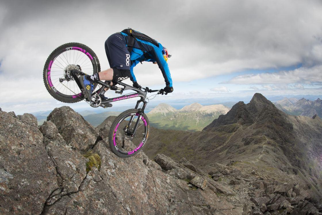 אופניים, אנדורו, הרים, פסגות