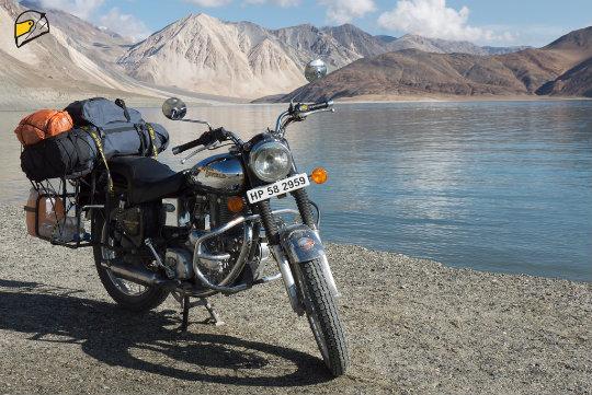 אופנוע בהימלאיה