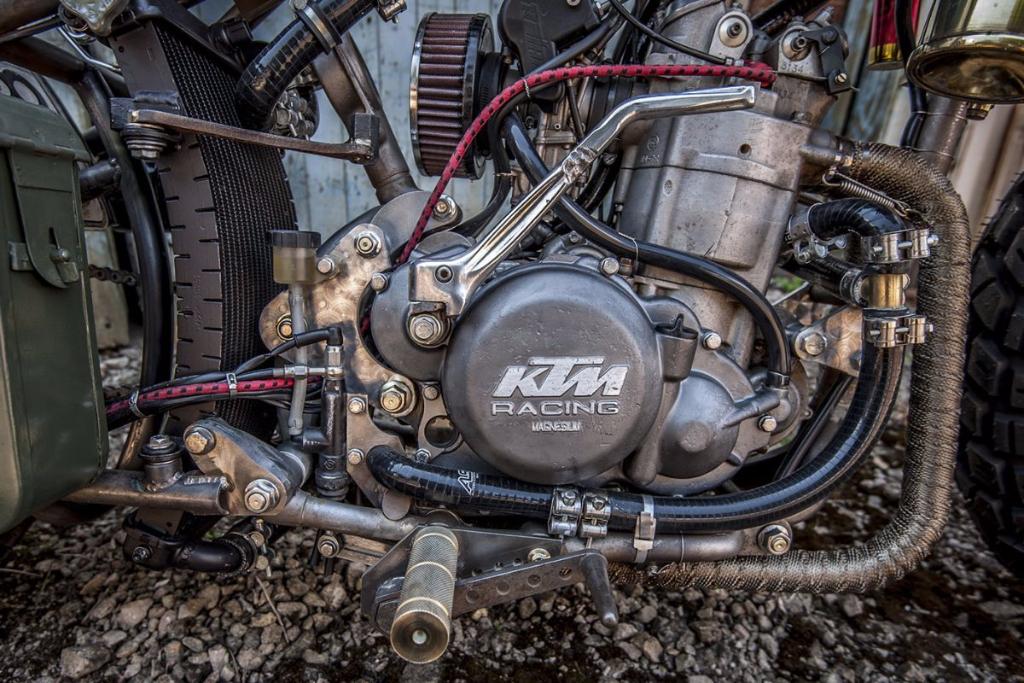 אופנועי KTM בישראל בדיקת האופנוע