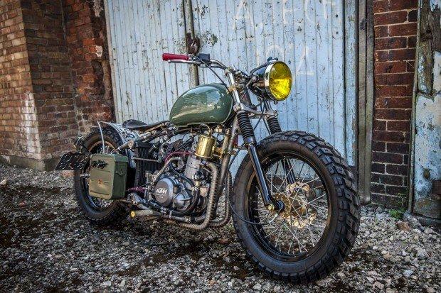 בניית אופנוע