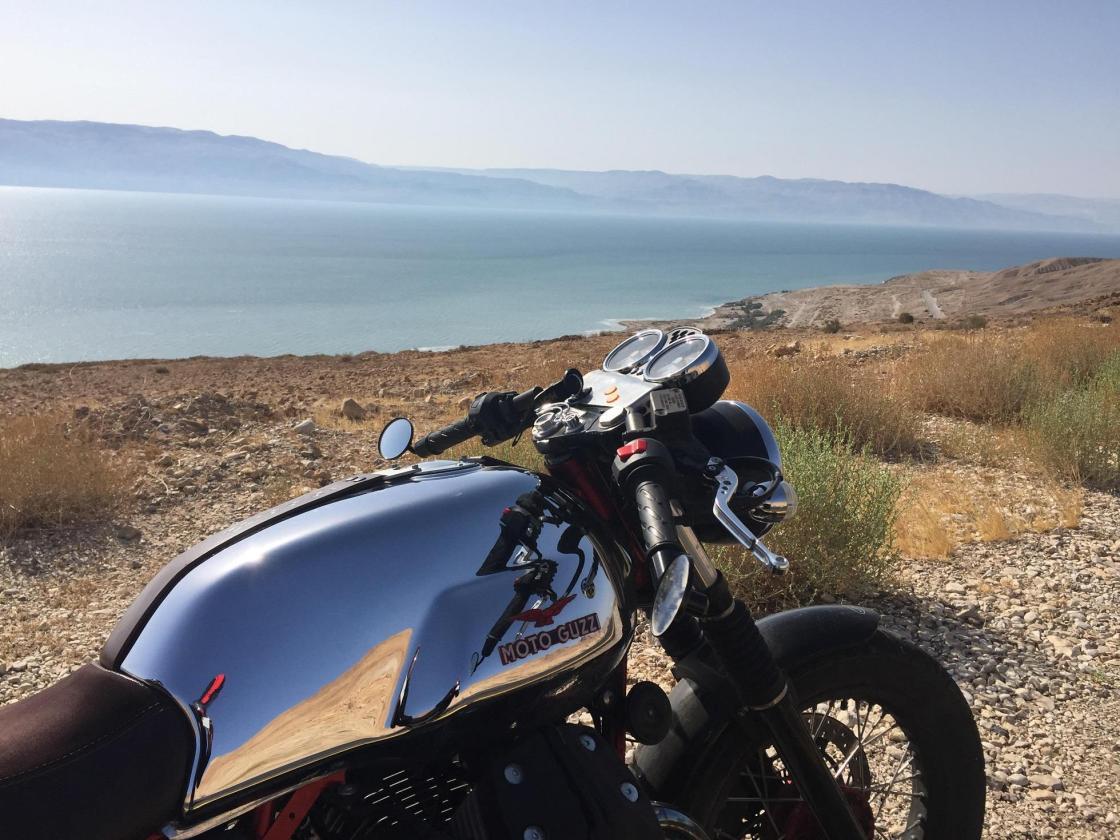 אופנועים לים המלח