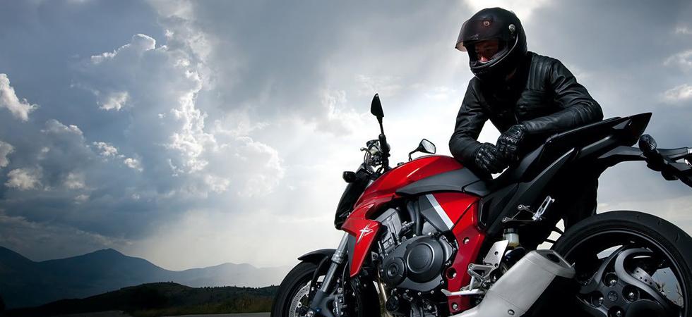 רוכב על האופנוע